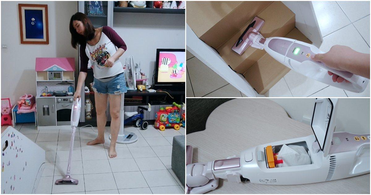 IRIS無線吸塵器開箱。日本IRIS氣旋直立式無線吸塵器 @艾比媽媽