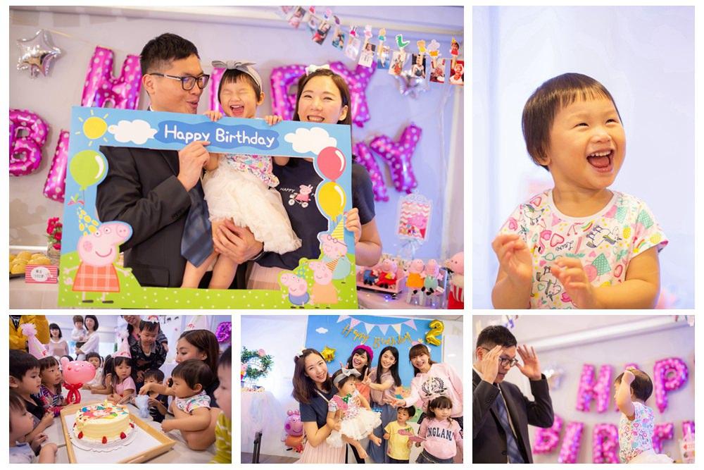 寶寶慶生派對攝影推薦-小巴老師親子攝影 (佩佩豬生日派對攝影推薦) @艾比媽媽