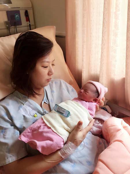【媽咪】孕期心情點滴及台北國泰生產心得分享 @艾比媽媽