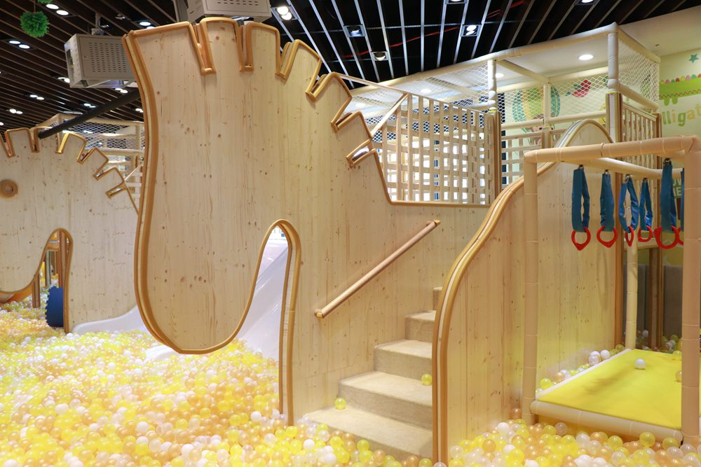 樂米樂園台中新開幕 ▋在台中秀泰生活站前店S2館