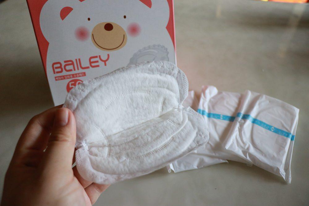 BAILEY貝睿哺育用品分享-母奶媽媽必備 ▌BAILEY指孔型母乳袋。倍柔防溢乳墊