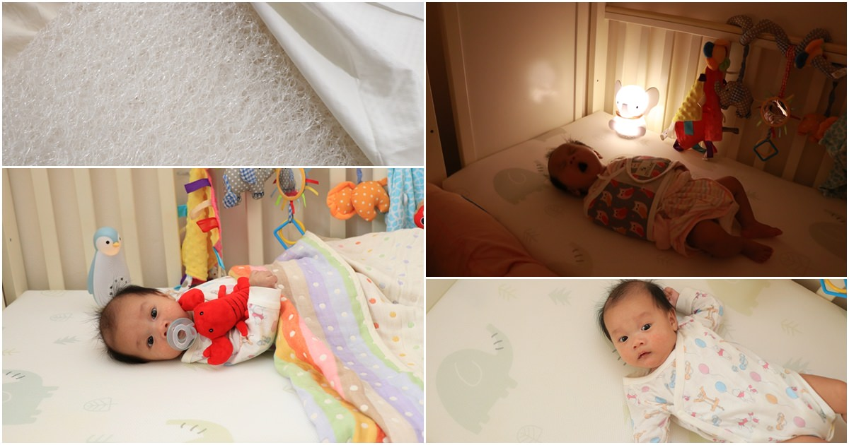 寶寶床墊推薦。PAMABE水洗透氣護脊嬰兒床墊 ▌好睡好洗好透氣 @艾比媽媽