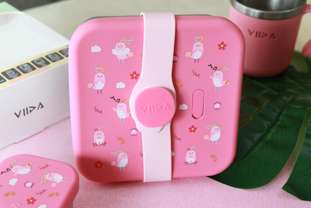 台灣品牌VIIDA Karrie便當盒新上市。316不鏽鋼材質的VIIDA便當盒