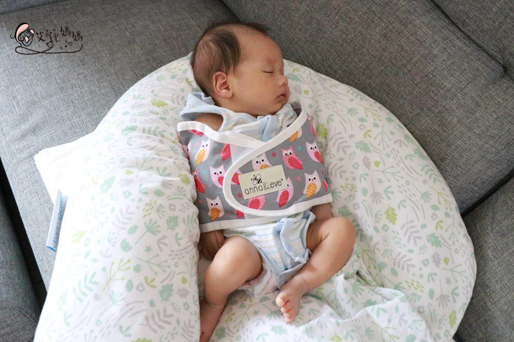 美國 Anna&Eve 嬰兒舒眠包巾 ▌防寶寶驚跳,安撫入睡,一夜好眠不是難事