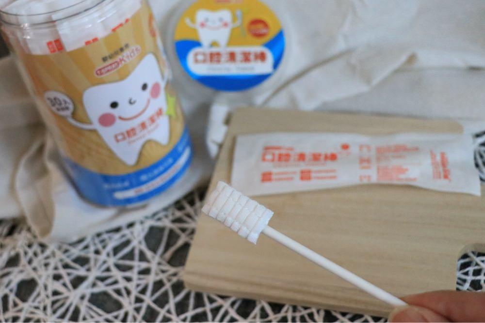 守護寶寶牙齒健康-齒妍堂 ▋兒童含鈣健齒牙膏、含鈣健齒噴霧、口腔清潔棒、健齒QQ糖