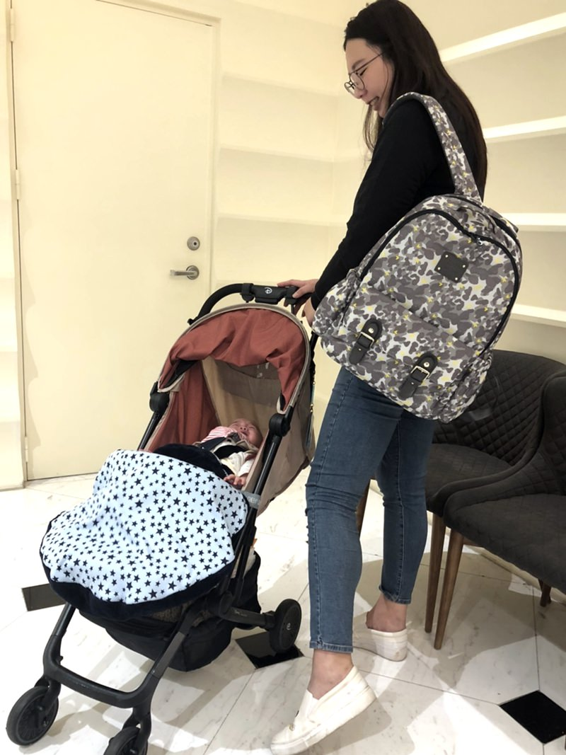 多夾層媽媽包推薦-Zoila Go Go Bag 走走包 ▋全職媽媽3種穿搭風格分享