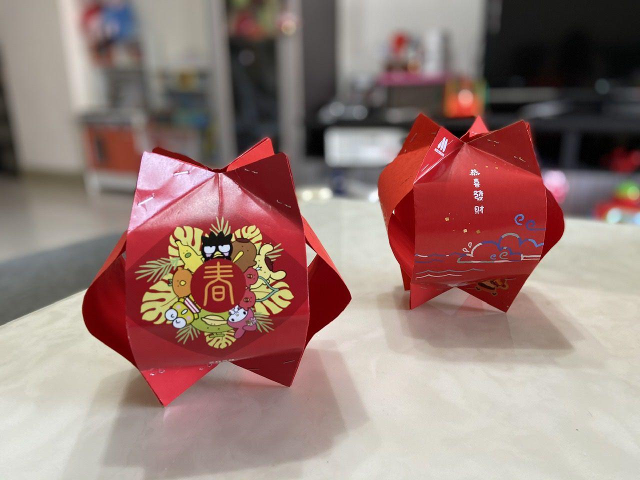 紅包袋燈籠DIY-環保燈籠自己做