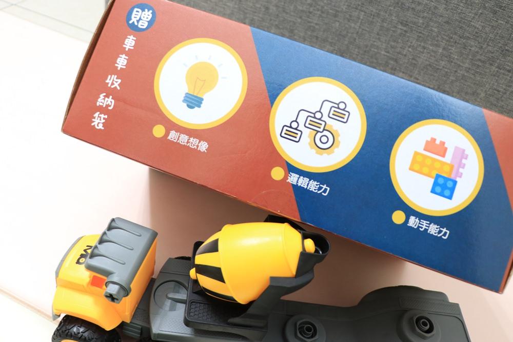 車車拆解組裝玩具推薦-SMART積木車。挖土機、吊車、砂石車、垃圾車、推土機、水泥車