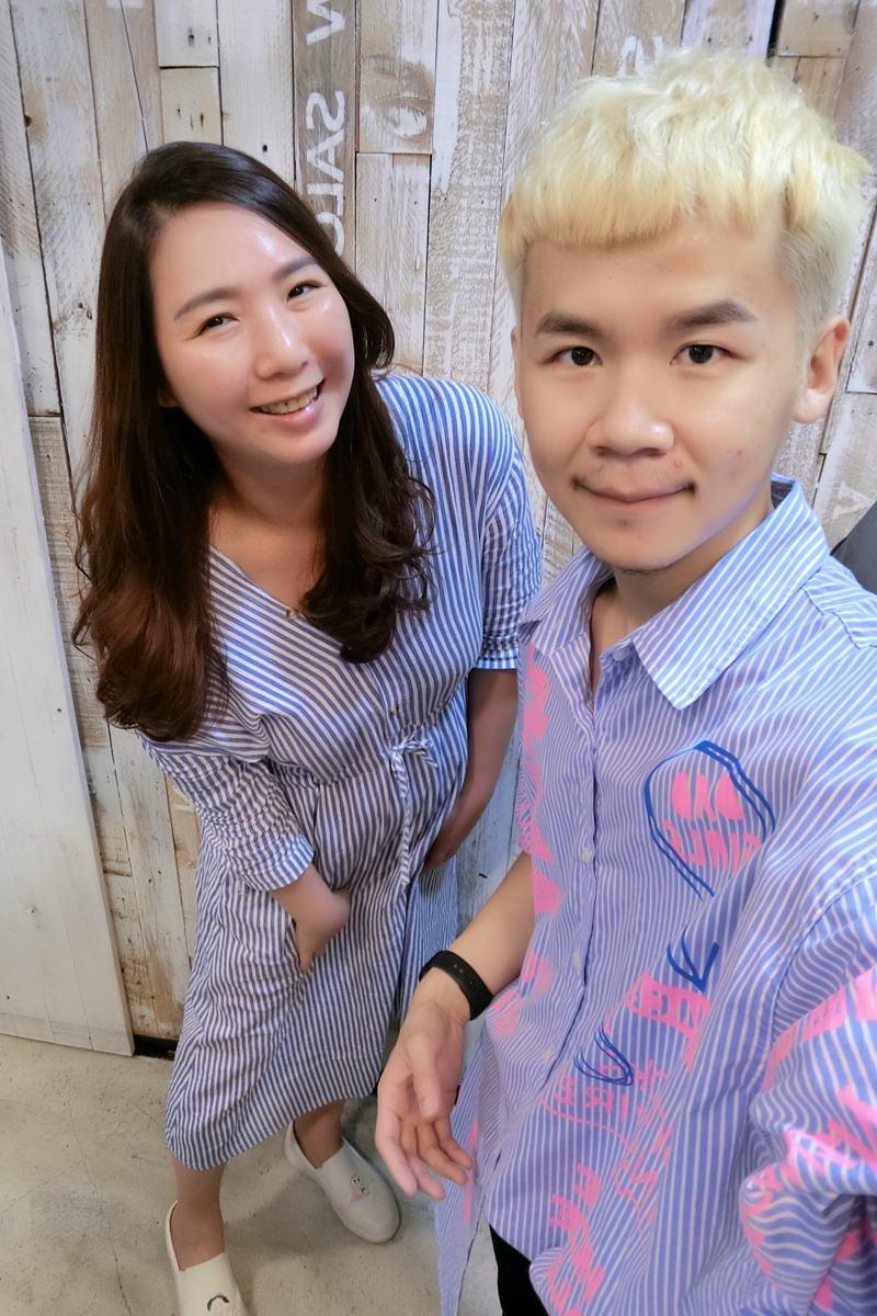 台北車站燙髮推薦-馬克老師 V show salon  ▋浪漫捲髮好整理 V 秀造型髮藝