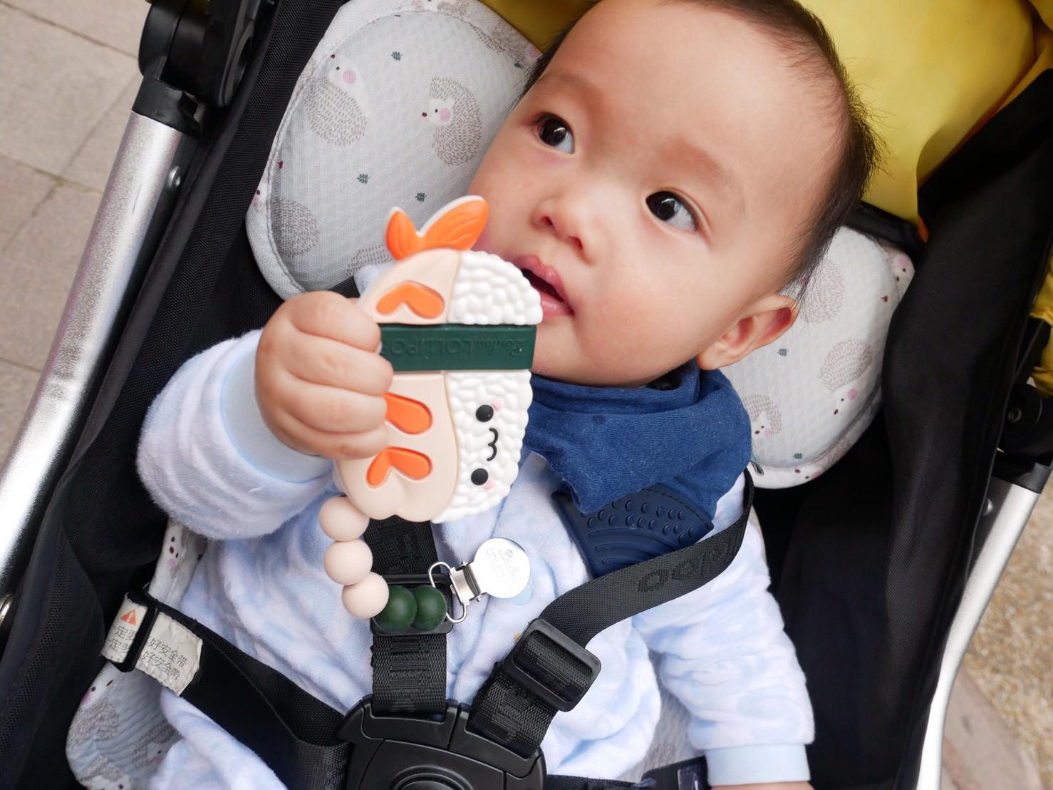 寶寶固齒器分享-Loulou lollipop固齒器 ▋竹纖維包巾 育兒必備