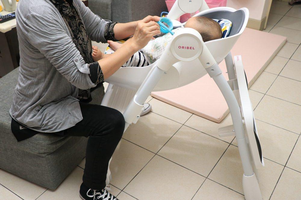 Oribel成長型高腳餐椅、Oribel遊戲桌 開箱分享