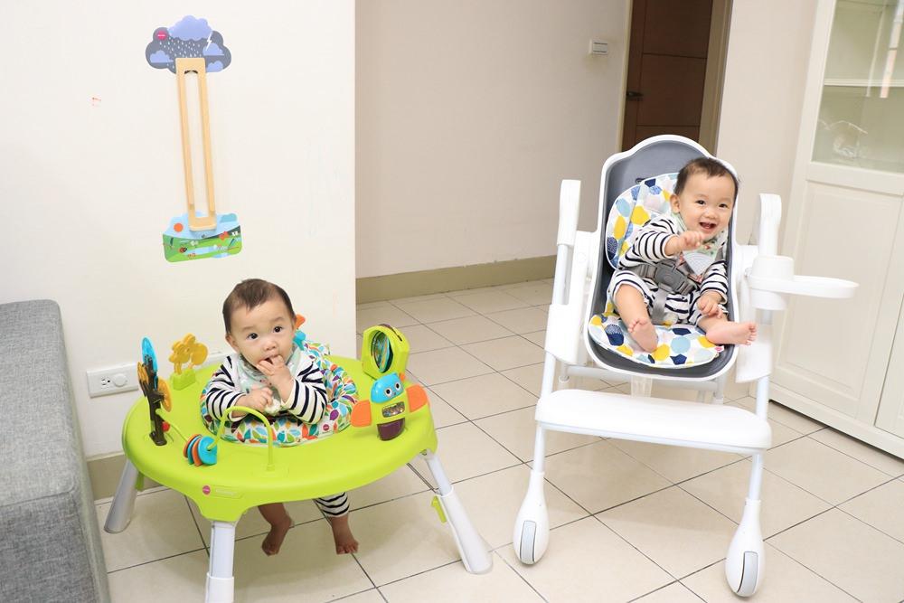 Oribel成長型高腳餐椅、Oribel遊戲桌 開箱分享 @艾比媽媽