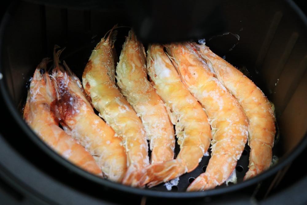 氣炸鍋懶人主婦料理-鹽酥蝦