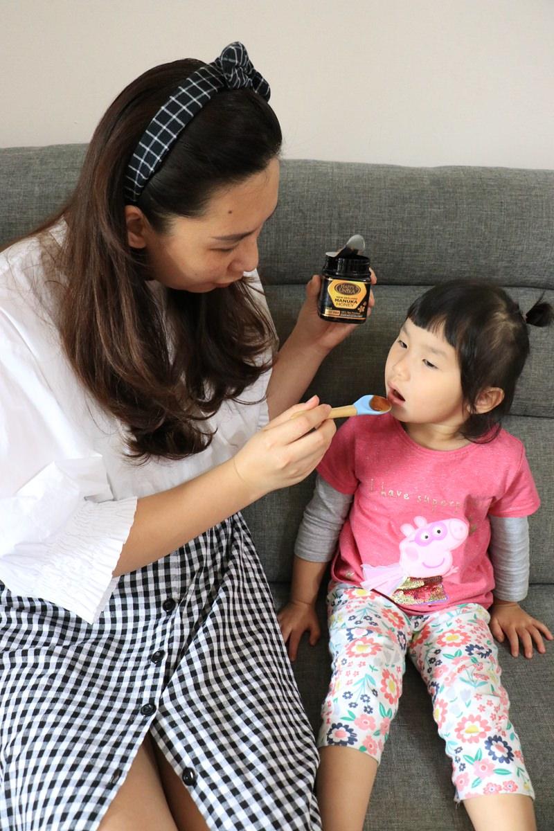 紐西蘭原裝進口麥盧卡蜂蜜,一歲小孩就能吃的蜂蜜推薦-Happy Unika佑爾康金貝親
