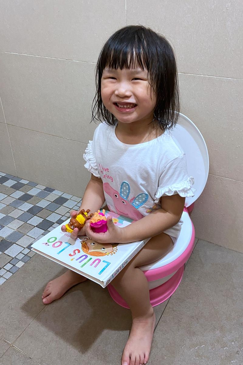 艾比媽戒尿布心得分享,及繪本推薦