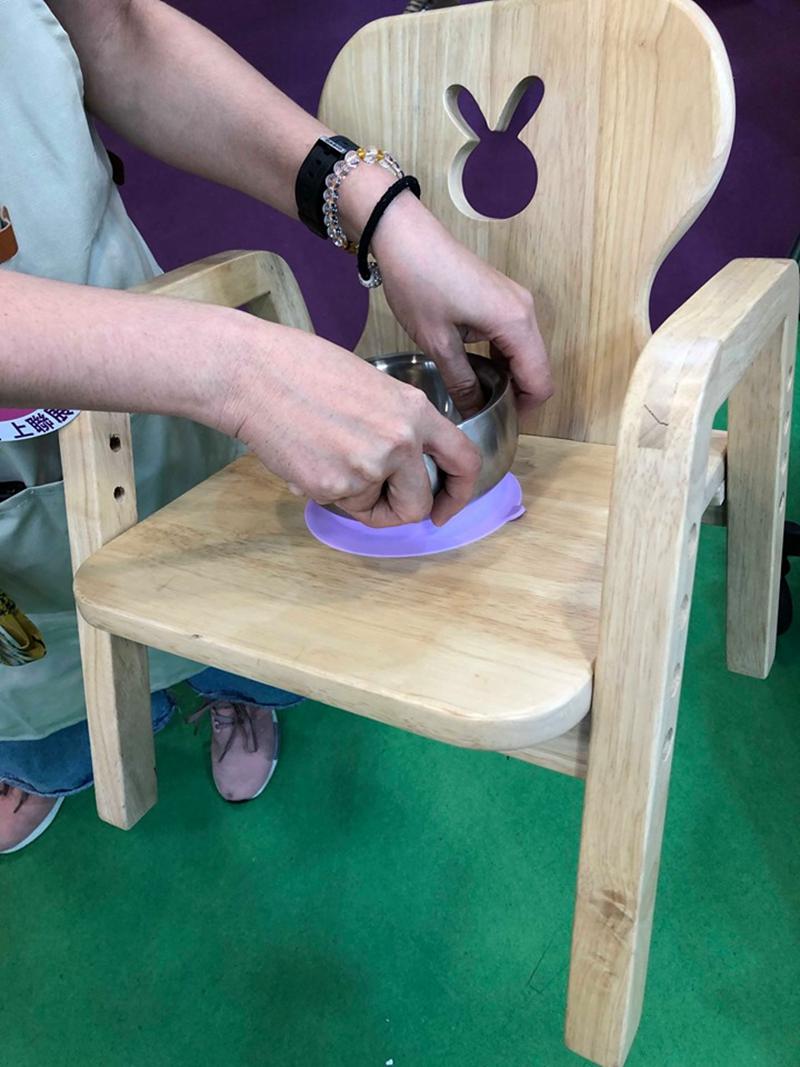 不鏽鋼吸盤碗推薦-美國 little.b 316雙層不鏽鋼學習吸盤碗