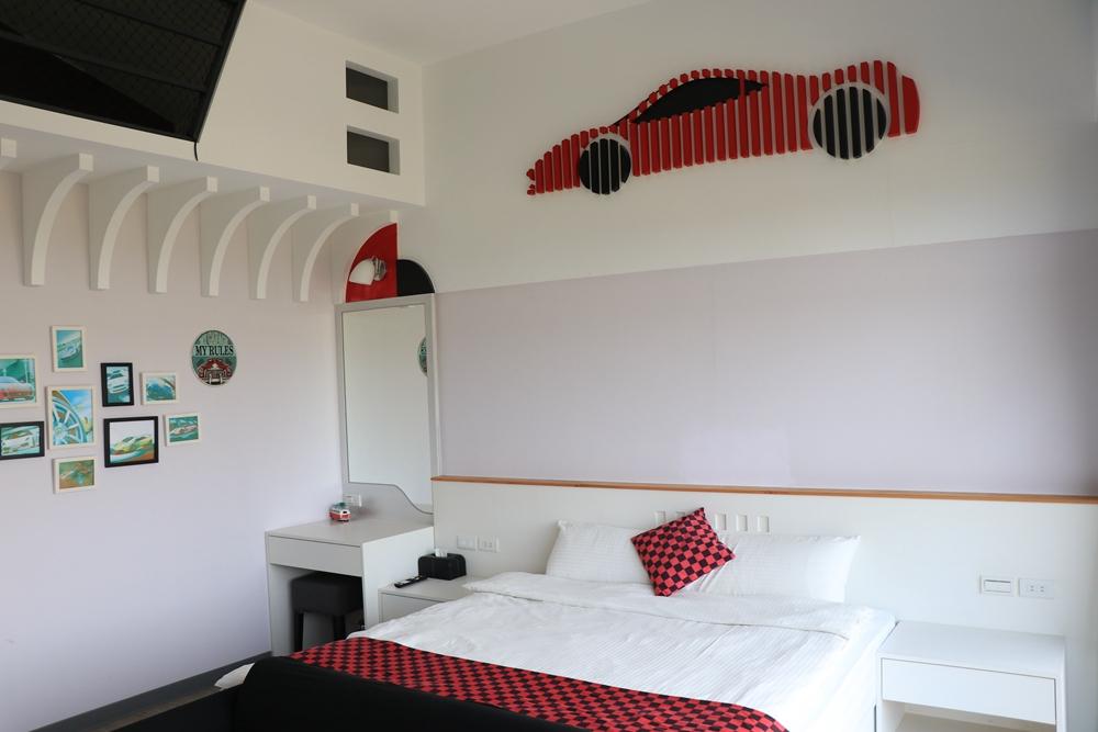 宜蘭五結包棟民宿推薦-童樂匯主題式親子民宿。包棟、烤肉恩尚三歲慶生地點