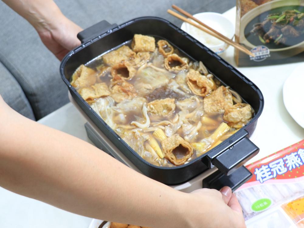 法國 THOMSON多功能健康蒸烤盤新上市。一鍋多用,可火鍋、燒烤、蒸煮-旺德電通