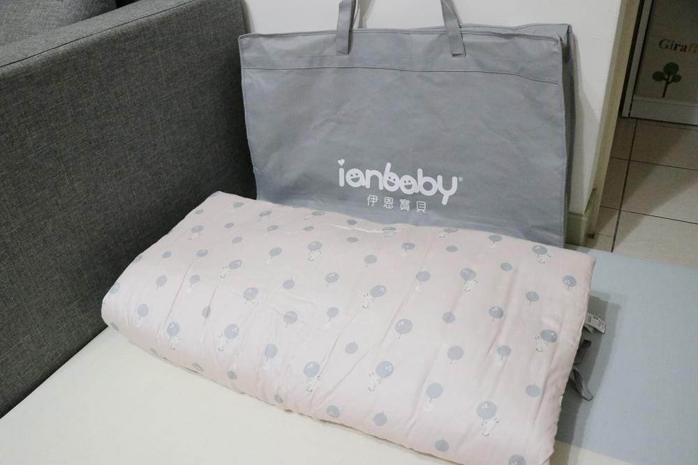 幼稚園睡袋推薦-伊恩寶貝。韓製棉質寶寶睡袋三件組