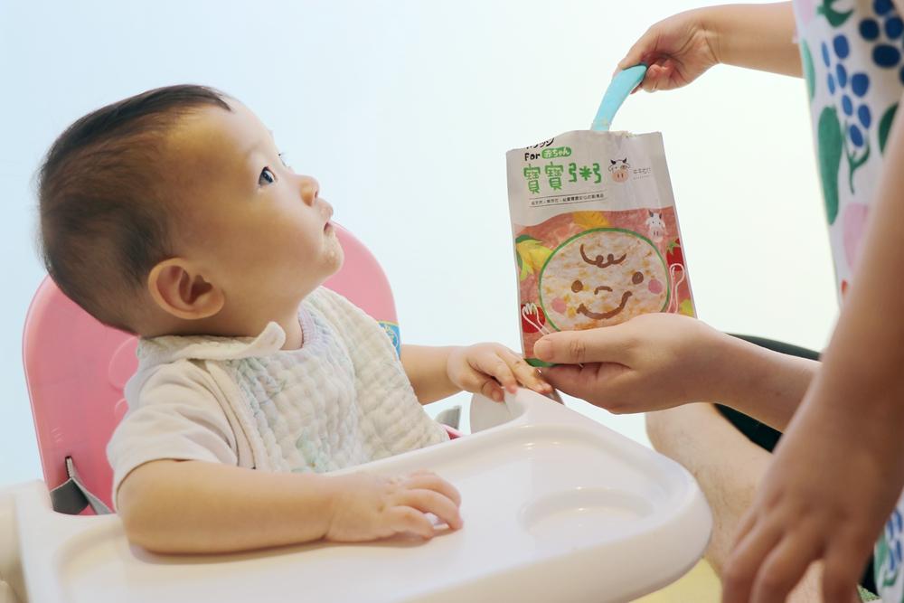 常溫寶寶粥首推-農純鄉寶寶粥。外出好方便,隔水加熱就OK