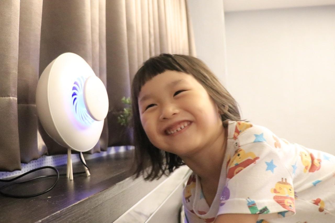 韓國美型捕蚊燈-IFIF靜音強效滅蚊燈