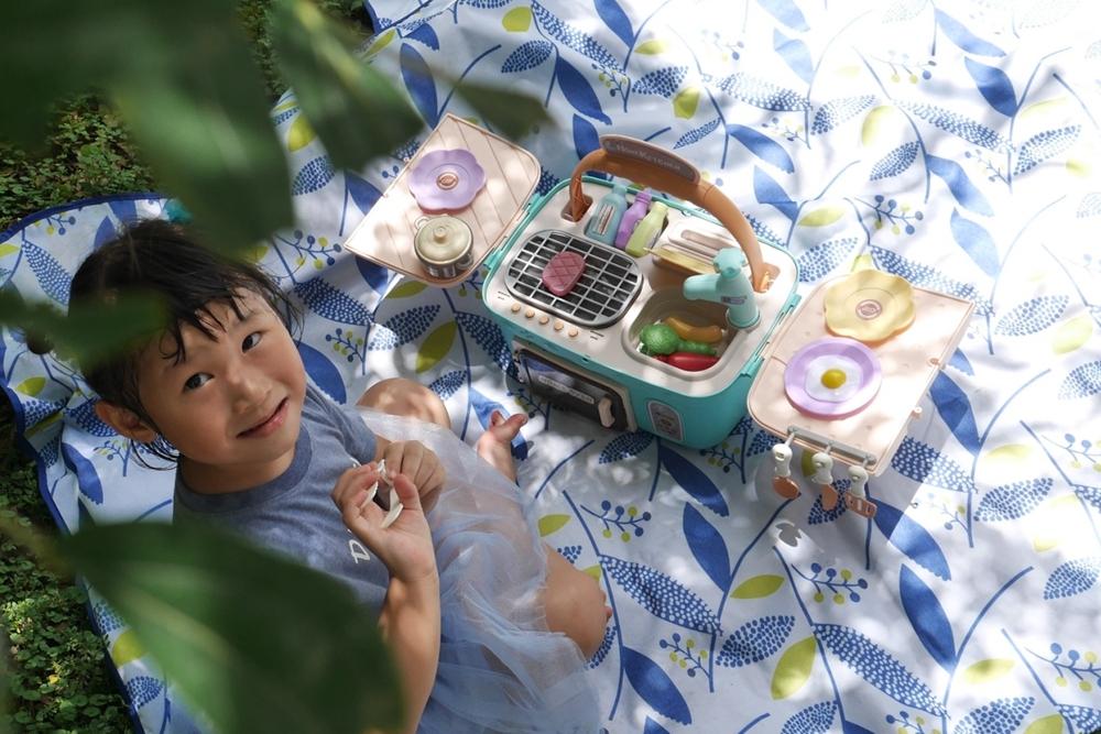 平價玩具推薦-CuteStone盟石仿真聲光玩具。兒童野餐烤肉玩具、微波爐廚具套裝玩具、兒童溫變廚房洗澡玩具(團購優惠價)