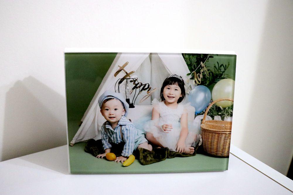 君尚一歲生日全家福,滿週歲紀念照成品分享(小詩琦映像館)