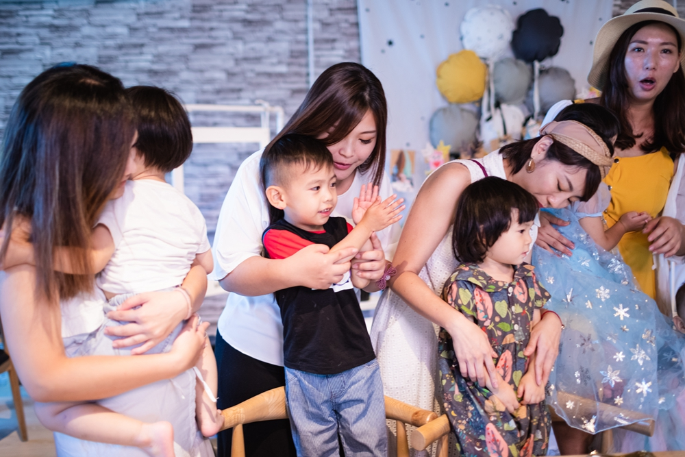 推薦寶寶派對攝影-幸福溫度攝影師黑龍。君尚周歲派對紀錄,謝謝好友們來參加~
