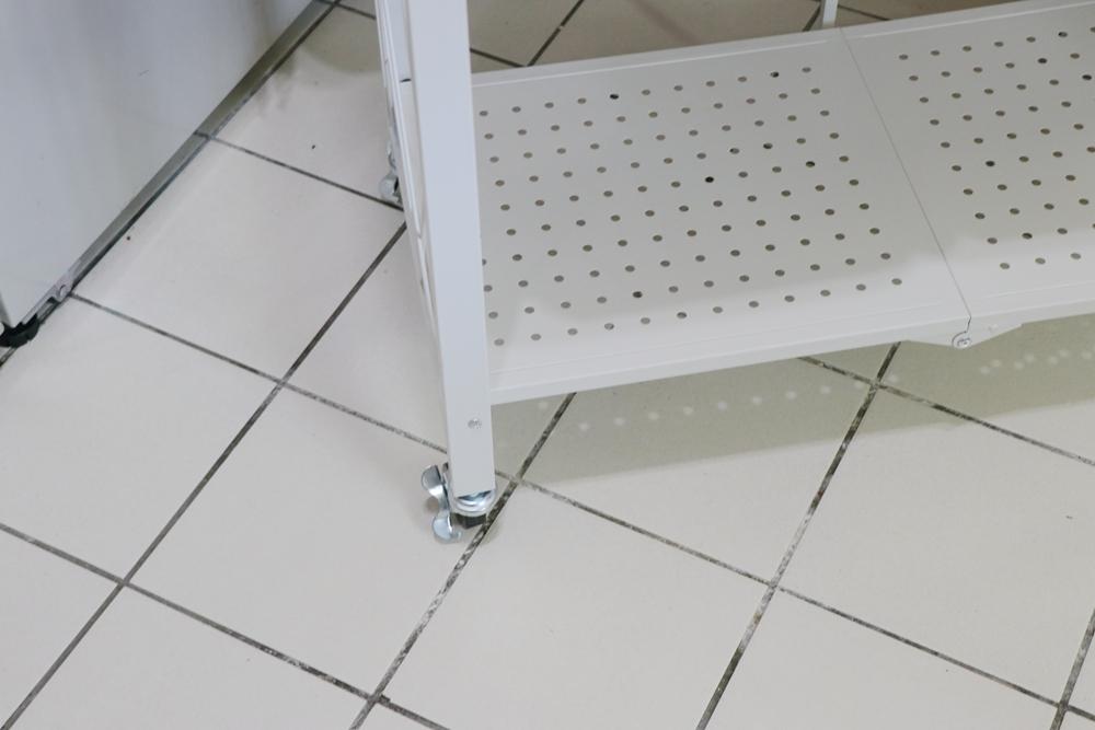 舒福家居-可摺疊收納架,不用安裝,直接打開就能用的置物架