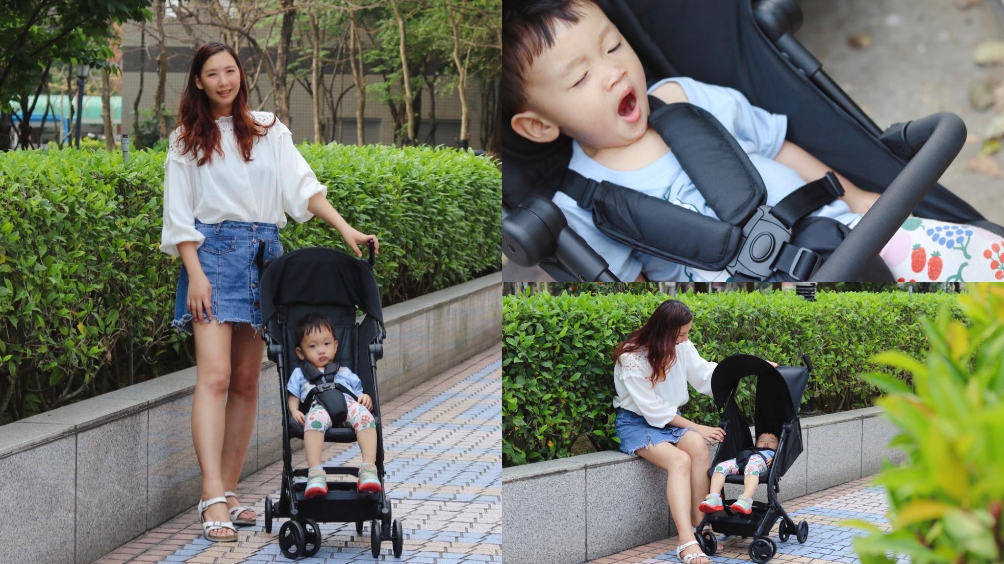 口袋推車推薦-LOVON推車,CUBIE口袋型手推嬰幼兒車。輕量可折疊,外型時尚! @艾比媽媽
