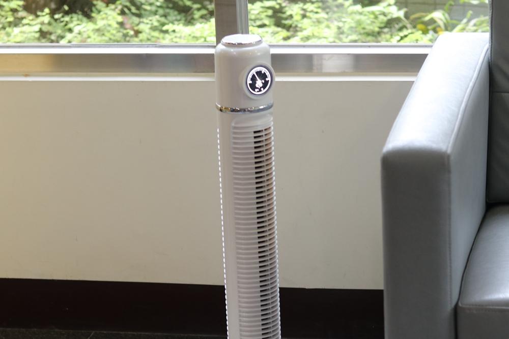 家用風扇推薦-THOMSON塔扇,更安全的風扇,體積小不占空間。旺德電通代理