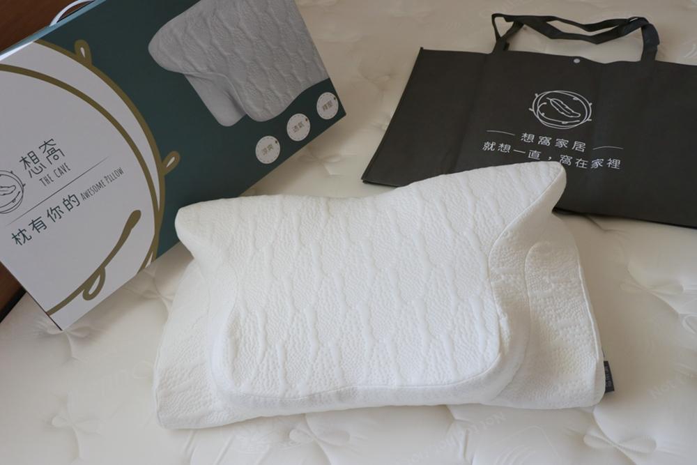 想窩The Cave獨立筒床墊、枕想窩枕頭開箱-床墊可100天試睡,台灣製造