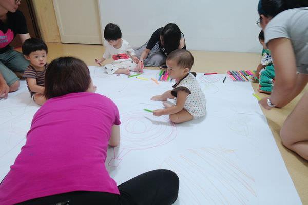 【寶寶】盧叮噹刨冰塗鴉-台北親子塗鴉課分享