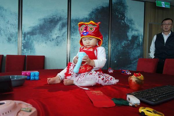 【寶寶】大推周歲宴好地點-Taipei101 欣葉食藝軒 ▋ 寶貝滿周歲之慶生系列(二)、抓周大會