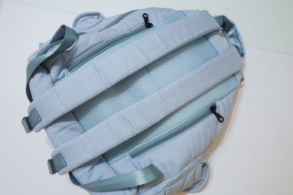 【媽媽】滿福寶空氣媽媽包 2018新色恬靜丹寧藍 ▋束口後背包,防水、耐重、耐髒、超大容量
