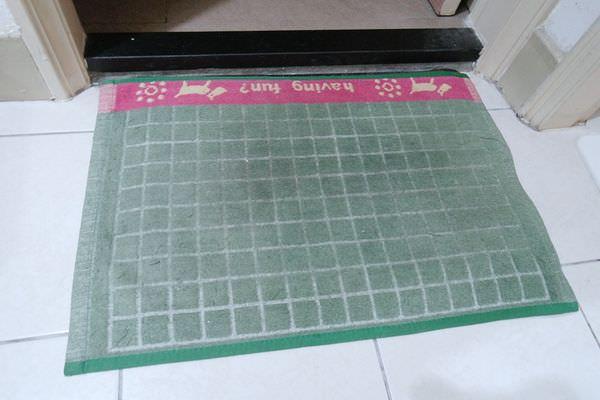 【生活】迪士尼授權 Tsum Tsum珪藻土吸水地墊開箱 ▋瞬間吸水,不易臭