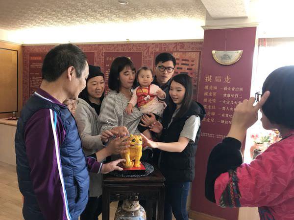 【寶寶】桃囍人文藝術館-抓周紀錄 ▋ 寶貝滿周歲之慶生第一彈
